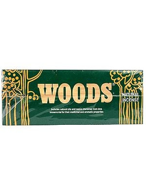Woods Natural Incense (Price Per 6 Packets)