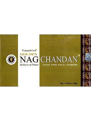 Vijayshree Golden Nag Chandan (Sandal Wood Masala Agarbathi)