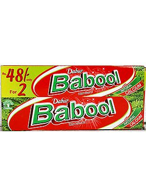 Babool Toothpaste (With Natural Calcium): Two in One Pack