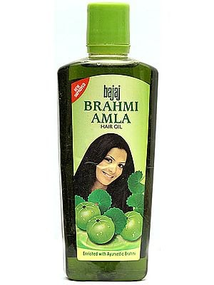 Bajaj Brahmi Amla - Hair Oil (Enriched with Ayurvedic Brahmi)