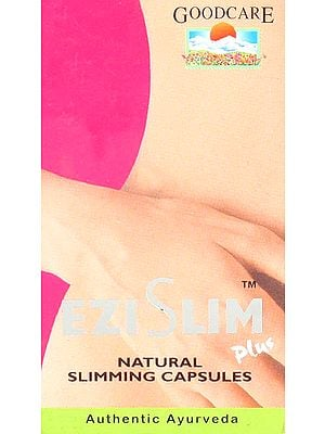 Ezi Slim Plus - Natural Slimming Capsules (Authentic Ayurveda) (60 Capsules)
