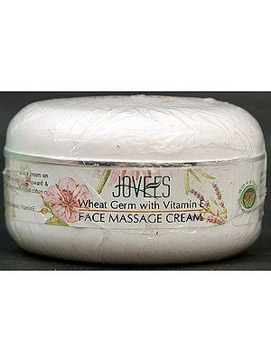 Face Massage Cream - Wheat Germ with Vitamin E