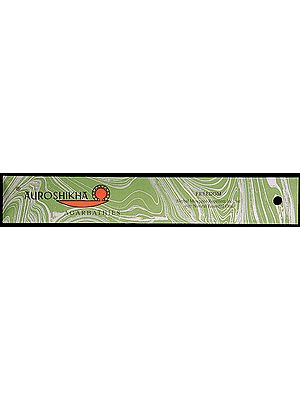 Freedom - Herbal Mosquito Repellent Incense with Natural Essential Oils (Auroshikha Agarbathies) (Price Per Ten Packets)