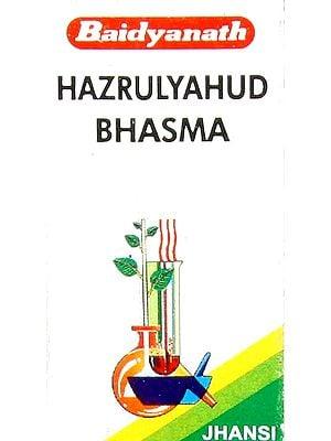 Hazrulyahud Bhasma