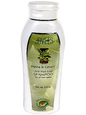Henna & Ginseng - Anti Hair Loss Shampoo (For all Hair Types)