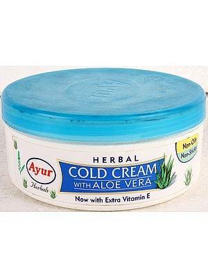 Herbal Cold Cream with Aloe Vera