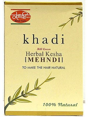 Herbal Kesha Mehndi - To Make the Hair Natural