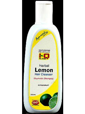Herbal Lemon Hair Cleanser (Ayurvedic Shampoo) Anti-Dandruff