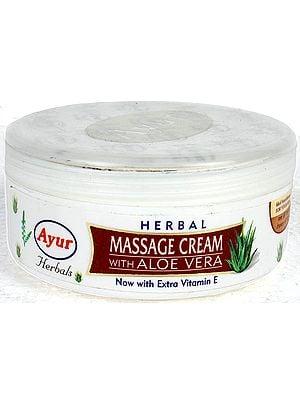 Herbal Massage Cream with Aloe Vera
