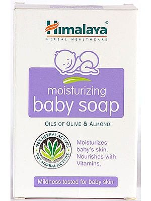 Himalaya Herbal Healthcare - Moisturizing Baby Soap (OILS OF OLIVE & ALMOND) (Price per Pair)