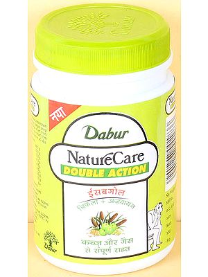 Isabgol - Trifala+Ajwain - Nature Care Double Action (Complete Relief from Constipation and Gass)