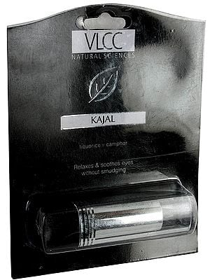 Kajal - Liquorice, Camphor (Relaxes & Soothes Eyes Without Smudging)