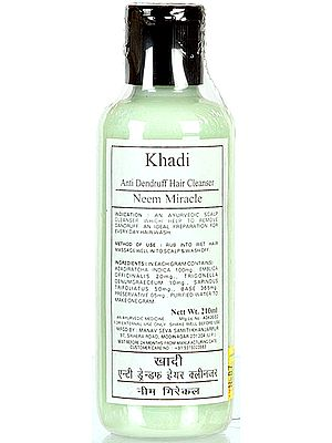 Khadi Anti Dandruff Hair Cleanser Neem Miracle