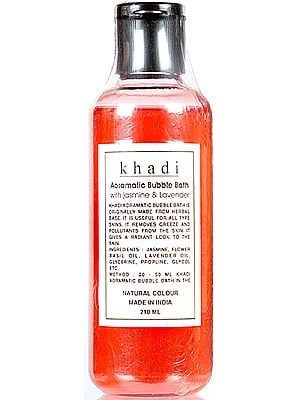 Khadi Aoramatic Bubble Bath with Jasmine & Lavender
