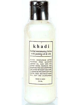 Khadi Herbal Moistrusing Lotion with Jasmine Oil & Vite