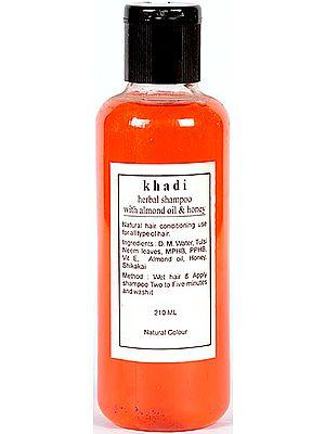 Khadi Herbal Shampoo with Almond Oil and Honey (Ayurvedic Medicine)