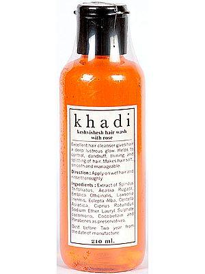 Khadi Keshvishesh Hair Wash with Rose