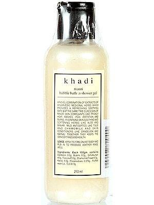 Khadi Mauri Bubble Bath 'N Shower Gel