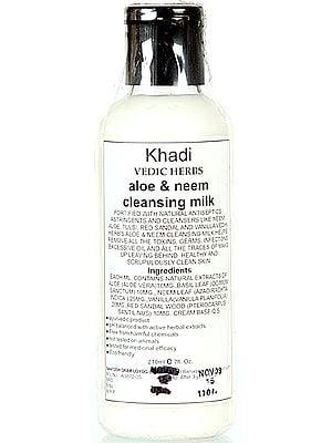 Khadi Vedic Herbs Aloe & Neem Cleansing Milk