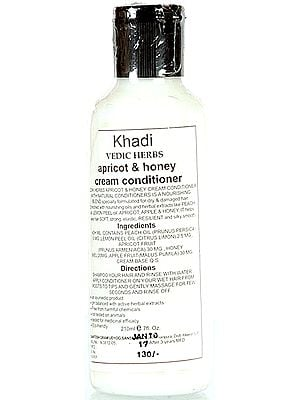 Khadi Vedic Herbs Apricot & Honey Cream Conditioner