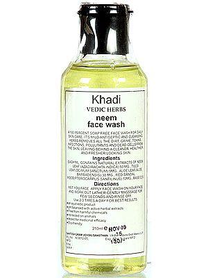Khadi Vedic Herbs Neem Face Wash