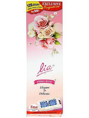 Lia Prime Rose (Elegant & Delicate): Incense Sticks  (240 Sticks)