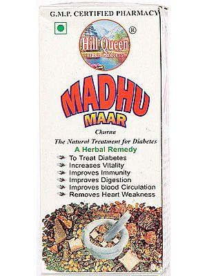 Madhu Maar Churna (The Natural Treatment for Diabetes- A Herbal Remedy)