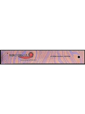 Mysore Sandal Incense (Auroshikha Agarbathies)
