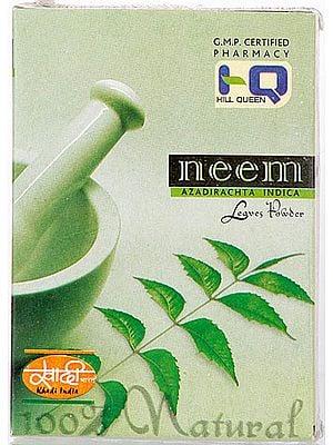 Neem Azadirachta Indica Leaves Powder
