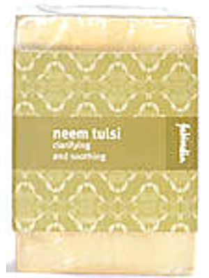 Neem Tulsi Clarifying and Soothing Soap (Price per Two Bars)