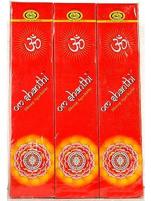 Om Shanthi Dhoop Agarbathi (360 Sticks)