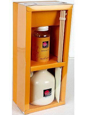 Orange Blossom - Reed Diffuser (Home Fragrance Set)
