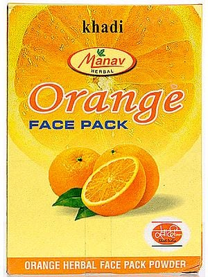 Orange Face Pack (Orange Herbal Face Pack Powder)
