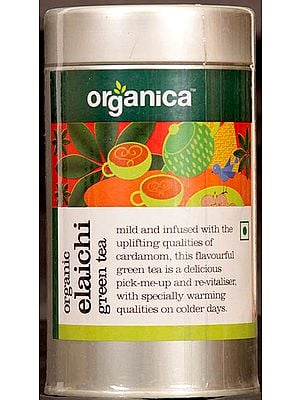 Organic Elaichi Green Tea