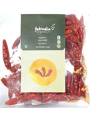 Organic Whole Red Chilli (Lal Mirch)