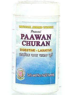Paawan Churan Digestive-Laxative (Safe and Non Habit Forming)