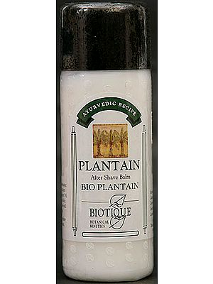 Plantain - After Shave Balm (Bio Plantain)