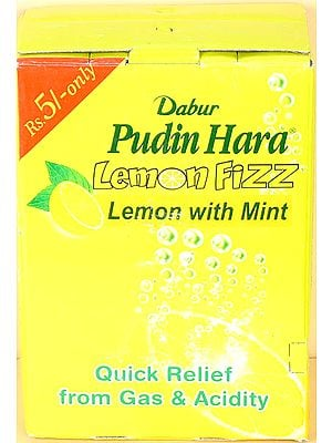 Pudin Hara Lemon Fizz - Lemon with Mint (Quick Relief from Gas & Acidity)