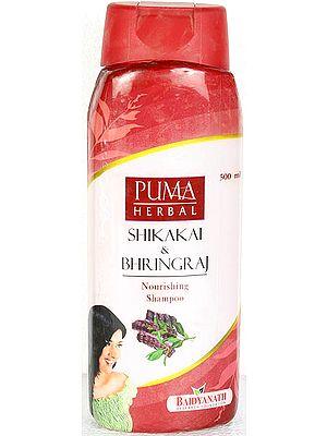Puma Herbal Shikakai & Bhringraj - Nourishing Shampoo