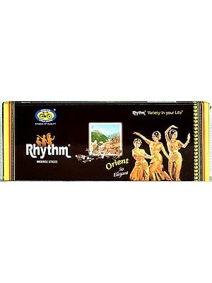 Rhythm: Orient Incense Sticks (12 Pkt. X 46 Gms)