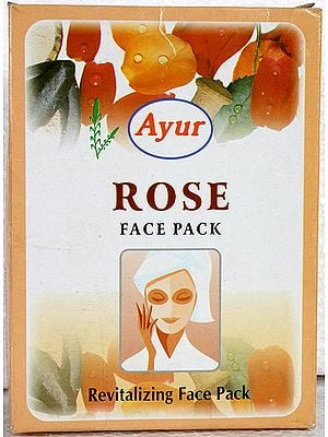 Rose Face Pack- Revitalizing Face Pack (Price Per Pair)