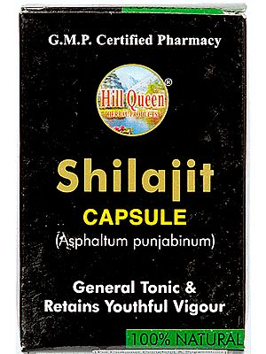 Shilajit Capsule Asphaltum Punjabinum (General Tonic & Retains Youthful Vigour)