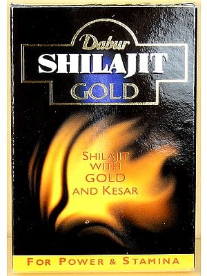Shilajit Gold Capsules (Shilajit with Gold And Kesar) Net. 10 Capsules