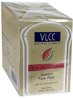 Skin Tightening - Geranium Face Pack (Geranium & Almond)