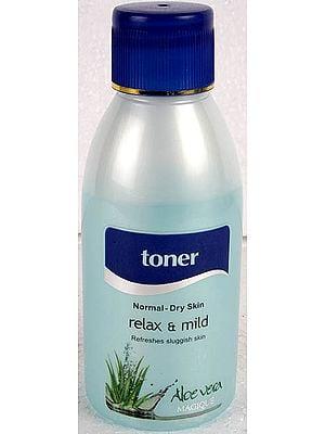 Toner - Relax & Mild Refreshes Sluggish Skin (Normal - Dry Skin)