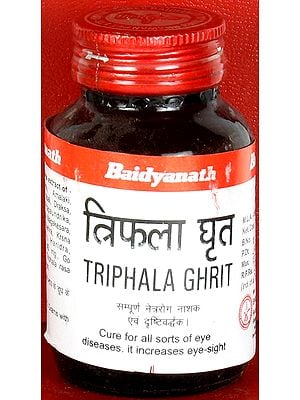 Triphala Ghrit (Cure for all Sorts of Eye Diseases. It Increases Eye - Sight)