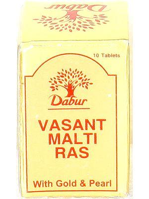 Vasant Malti Ras (With Gold & Pearl)