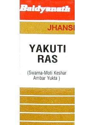 Yakuti Ras (Swarna - Moti Keshar Ambar Yukta)