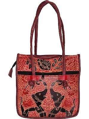 Shantiniketan Elephant Handbag
