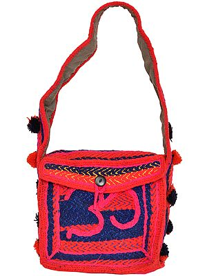 Om Shoulder Bag from Haridwar